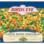 birds eye classic mixed vegetablesw