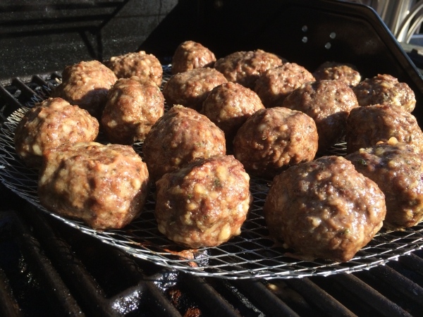 Grilled Meatballs « Chris' Recipes